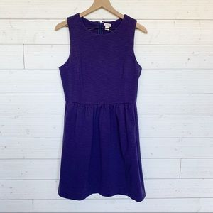 J Crew Factory Navy Fit and Flare Dress